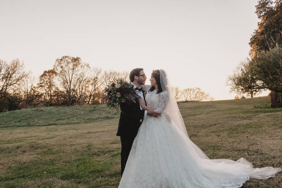 (VH) Newlyweds in Gardens