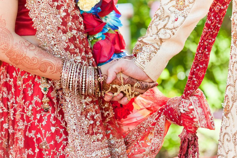 Traditional South Asian wedding