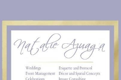 Natalie Azuaga Wedding and Event Planner