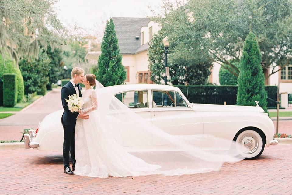 VIP Wedding '57 Rolls-Royce