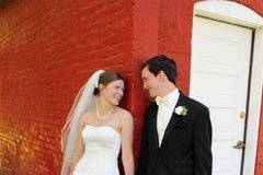 wedding at earle brown heritage center in Minnesota