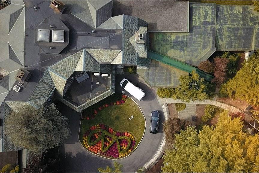 Aerial Still above Venue