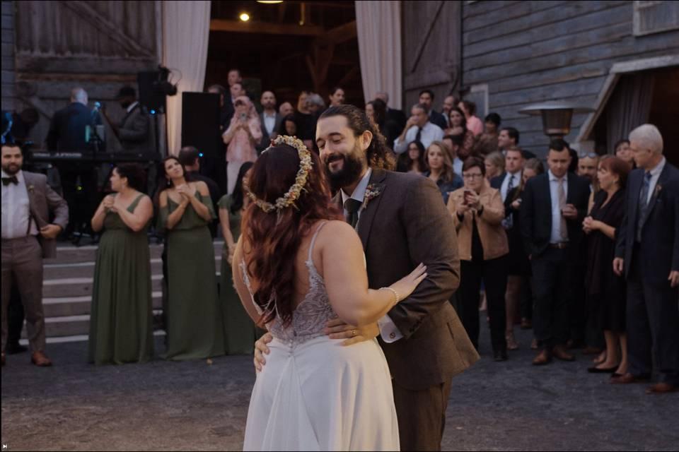 Congrats, Joe and Juli!