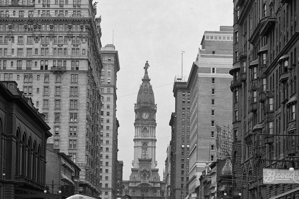 BROAD STREET PHILLY 1921