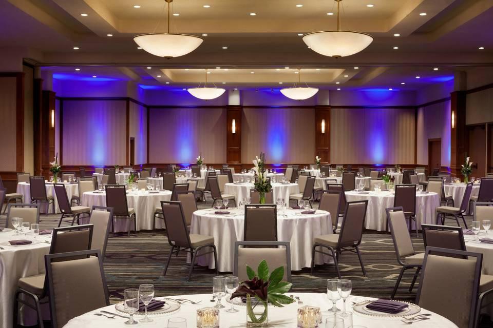 Park Ballroom with Uplighting