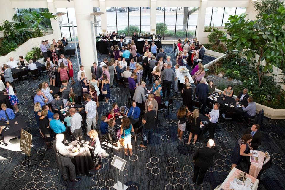 Lower Atrium Cocktail Hour
