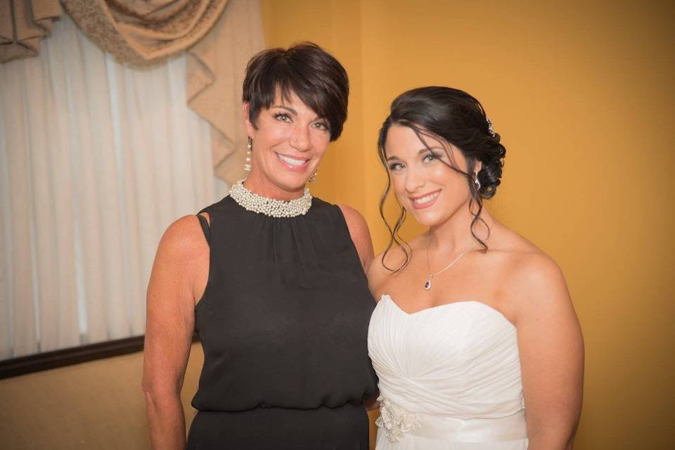 Officiant and the bride
