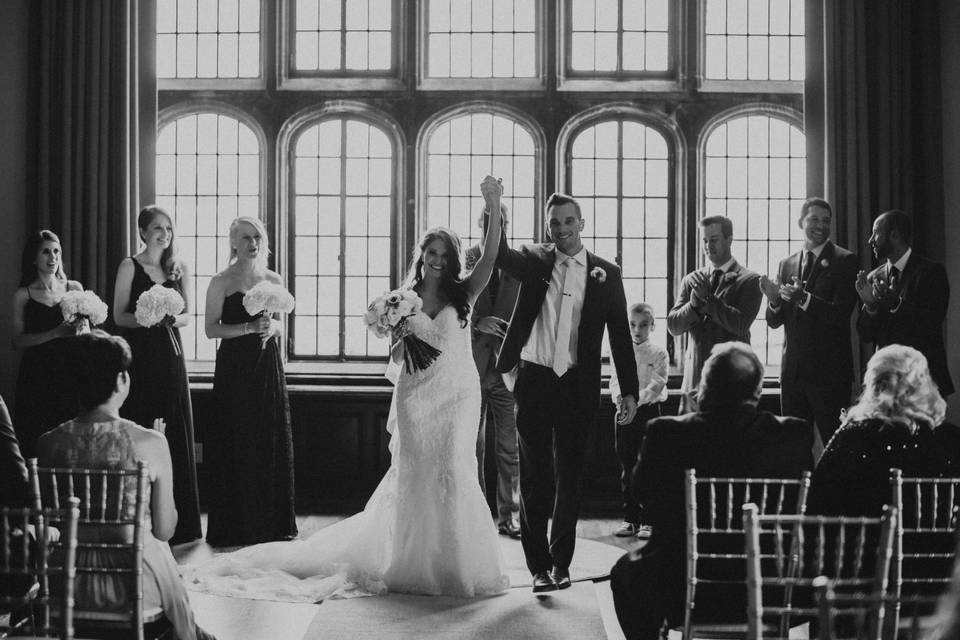 Ceremony in the Tudor Ballroom