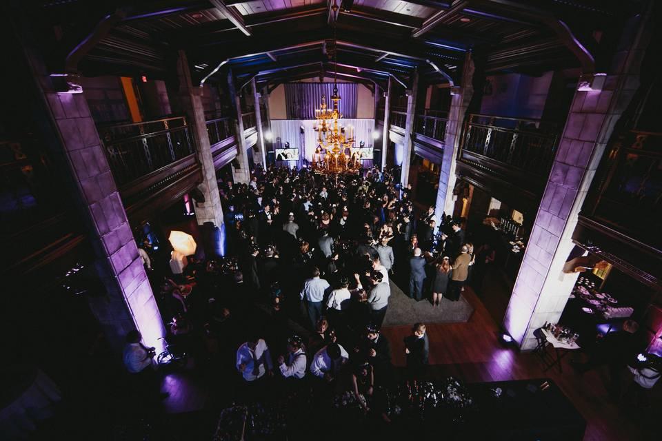 Dancing in the Tudor Ballroom