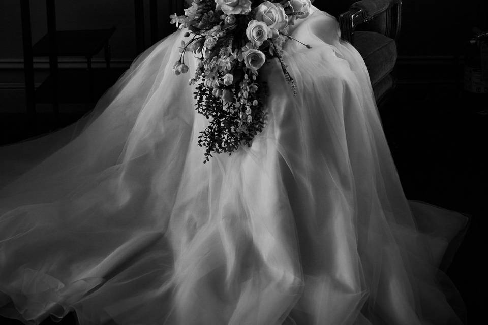 Dresser Mansion bridal shoot