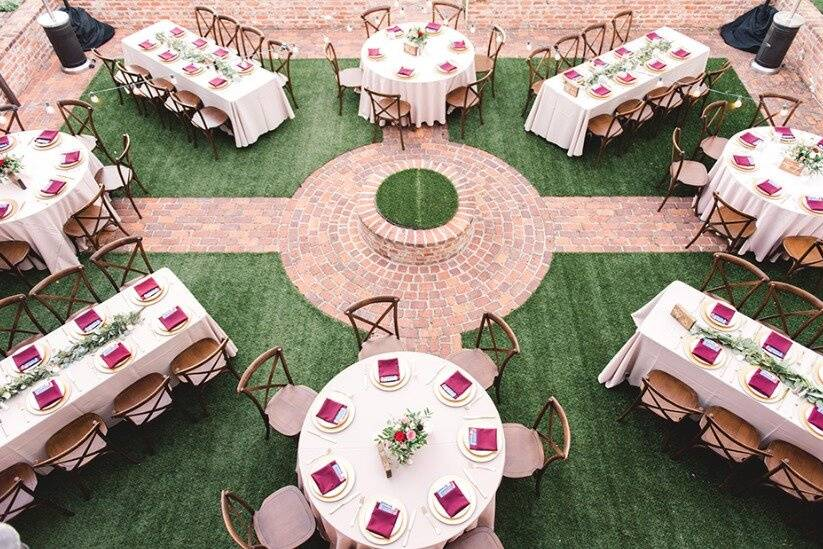 Perfect reception layout