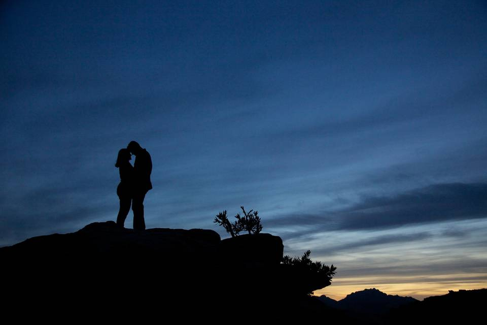 Silhouette Photography in Tucson