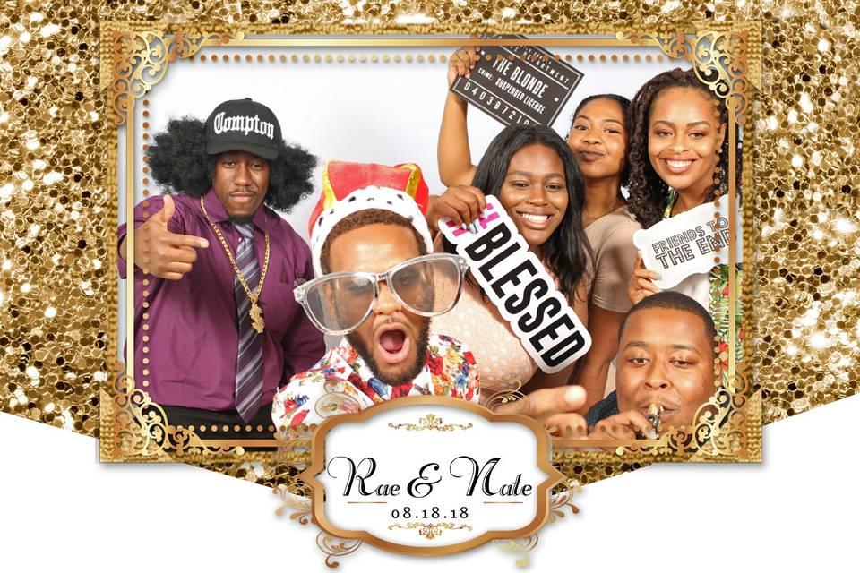 Rae & Nate's Wedding Fun