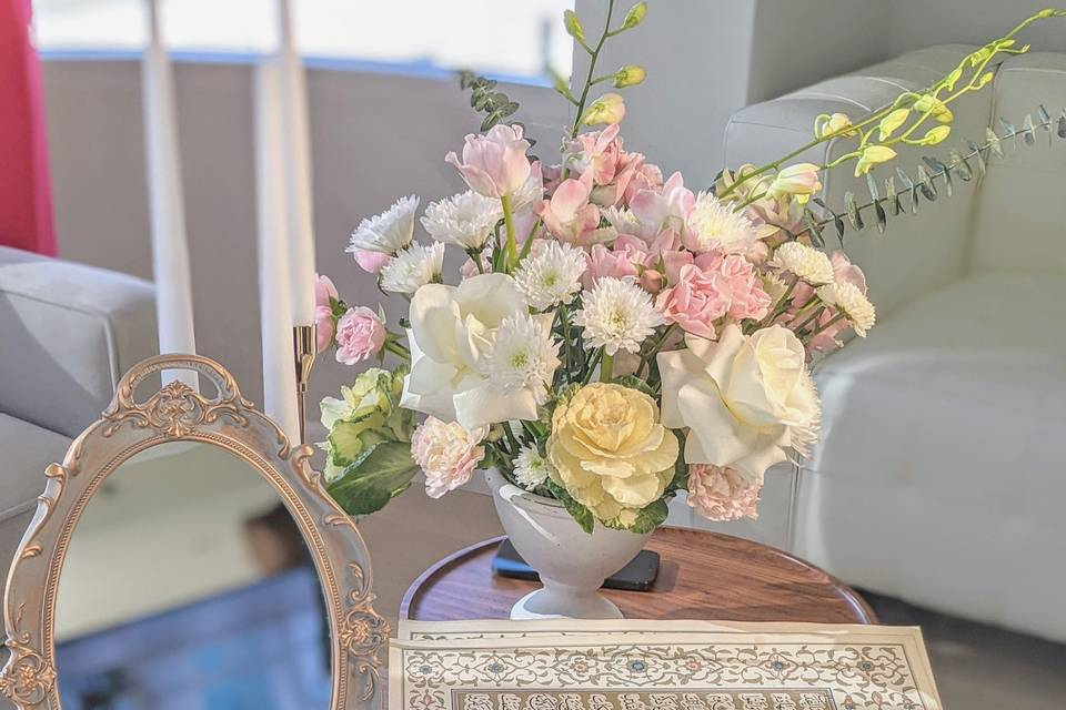 Bridal setup