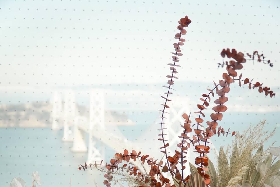 Dried flower designs