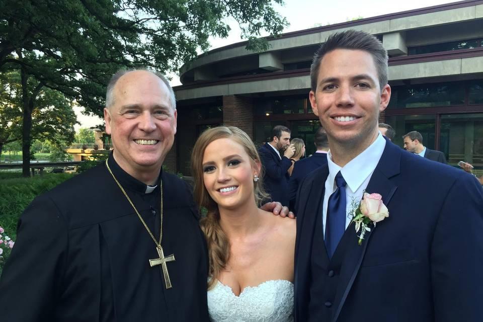 Chicago Marriage - Rev. Daniel L. Harris