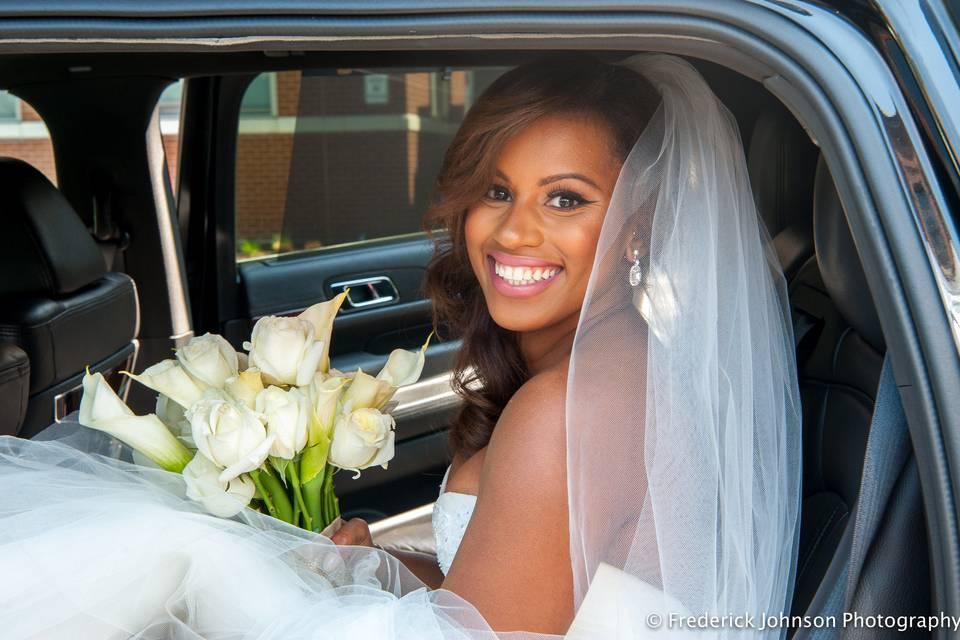 Here comes the bride -