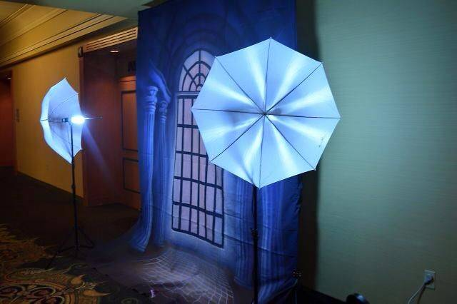 Photobooth set-up