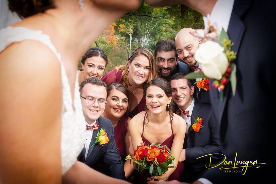 Wedding party - Dan Lungen Photography, Inc.