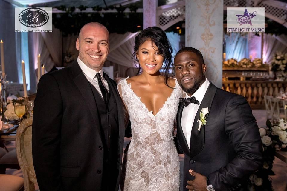 Kevin Hart's Wedding