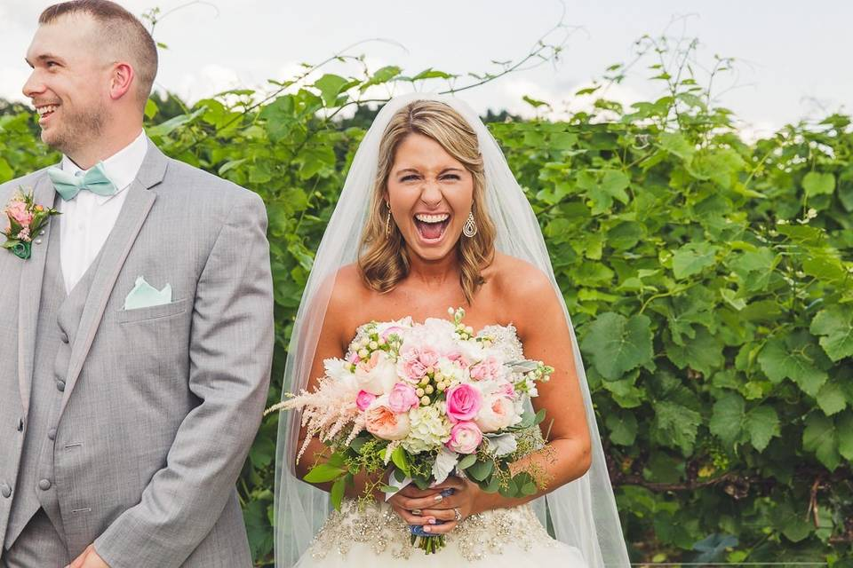 Just married joy!