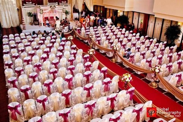 Lavish ceremony space