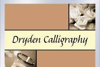 Dryden Calligraphy - the