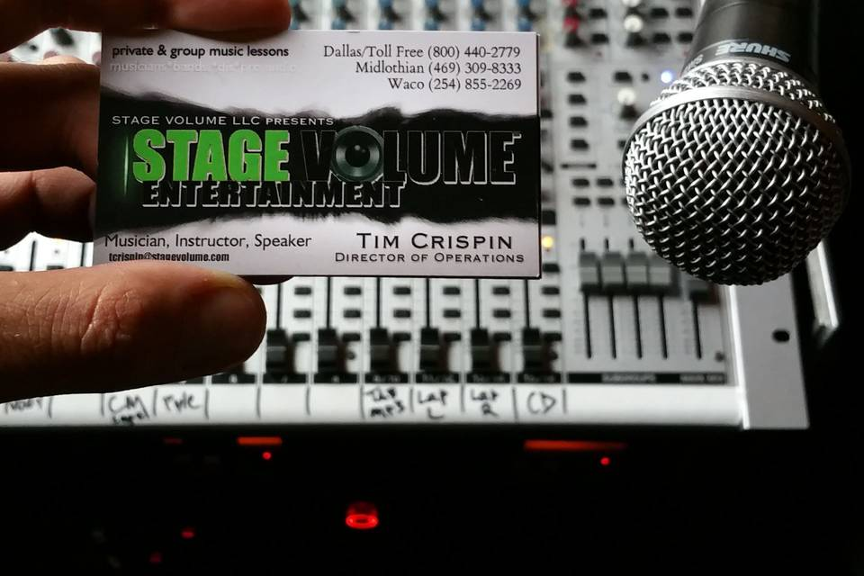 Stage Volume LLC