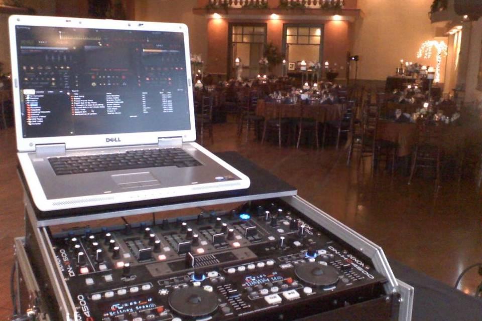 DJ equipment