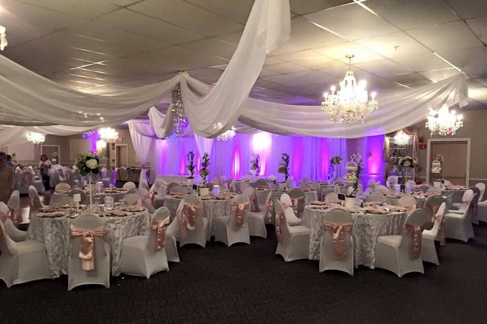 Weddiing reception venue