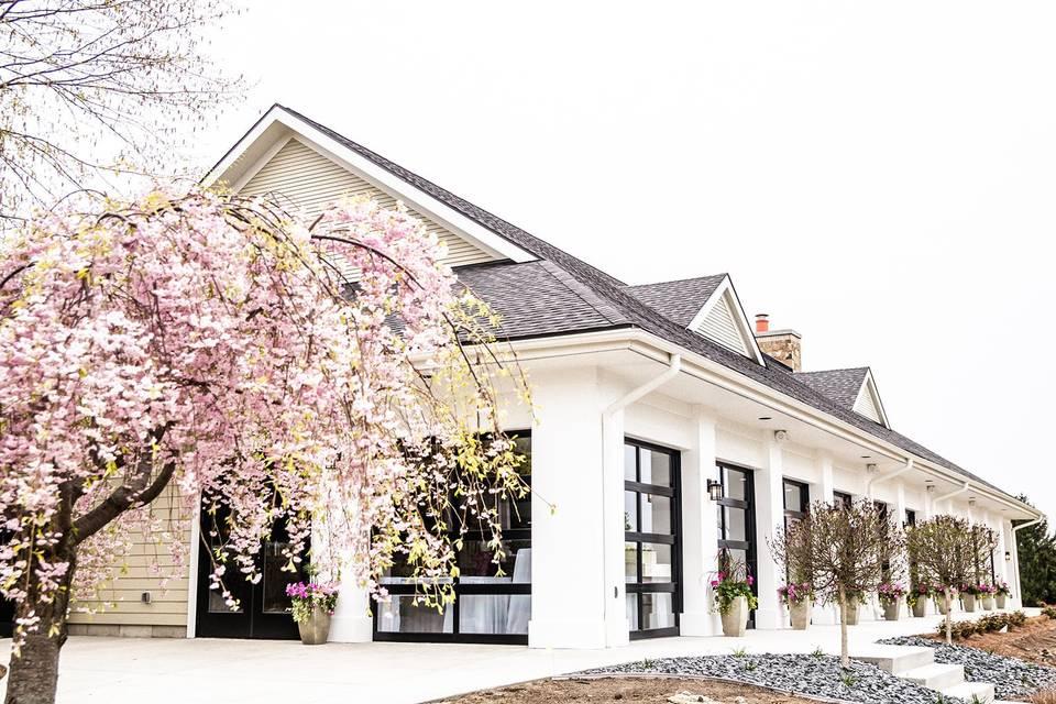 Reception venue exterior