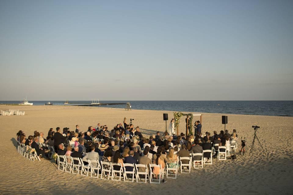Beach wedding | Joshua Behan