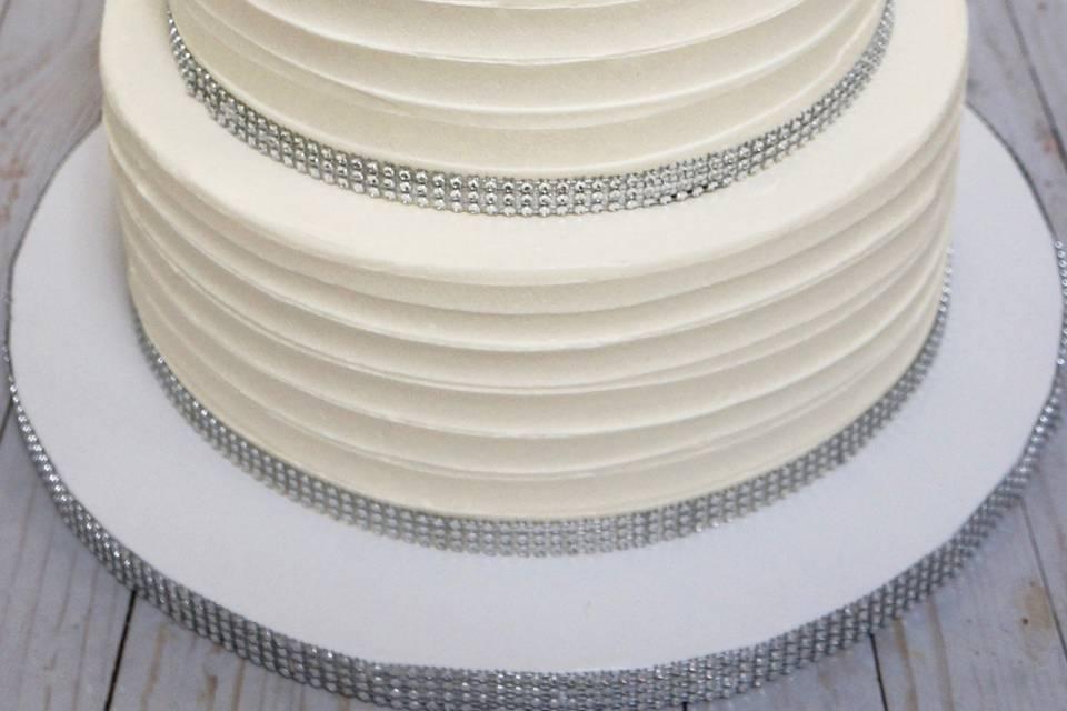 Horizontal Bling Cake
