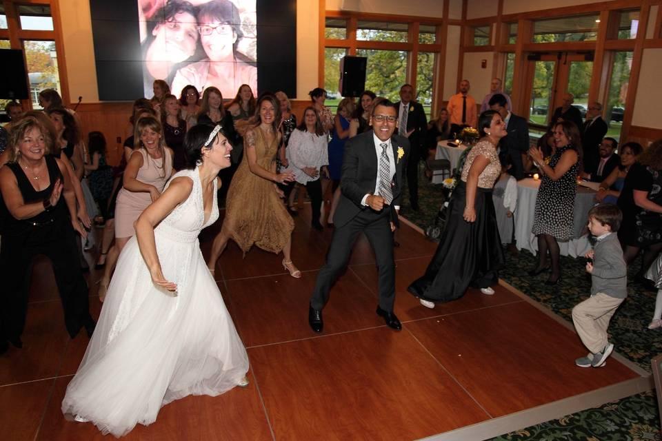 Zumba Wedding