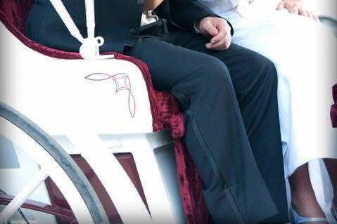 Newlyweds in the chaise