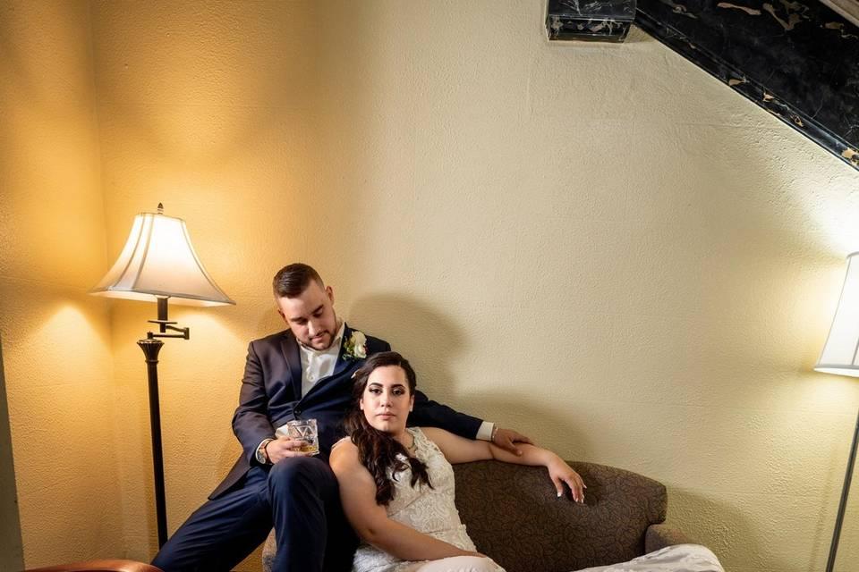 Gatsby-Esque Wedding