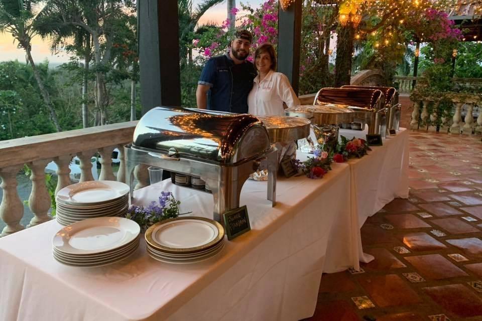 Chef Nilsa and Chef Jorge