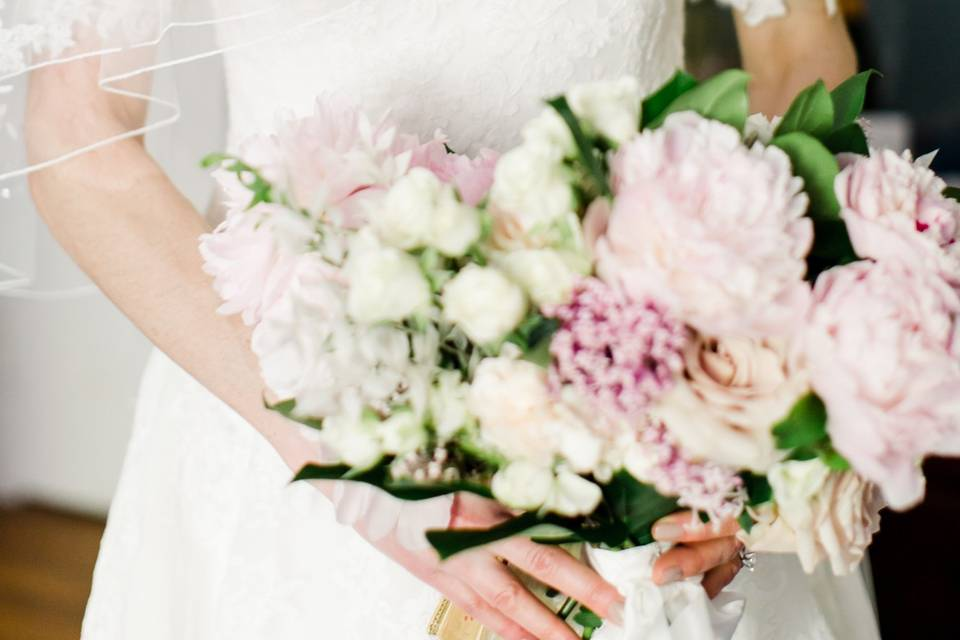 Close up of bouquets