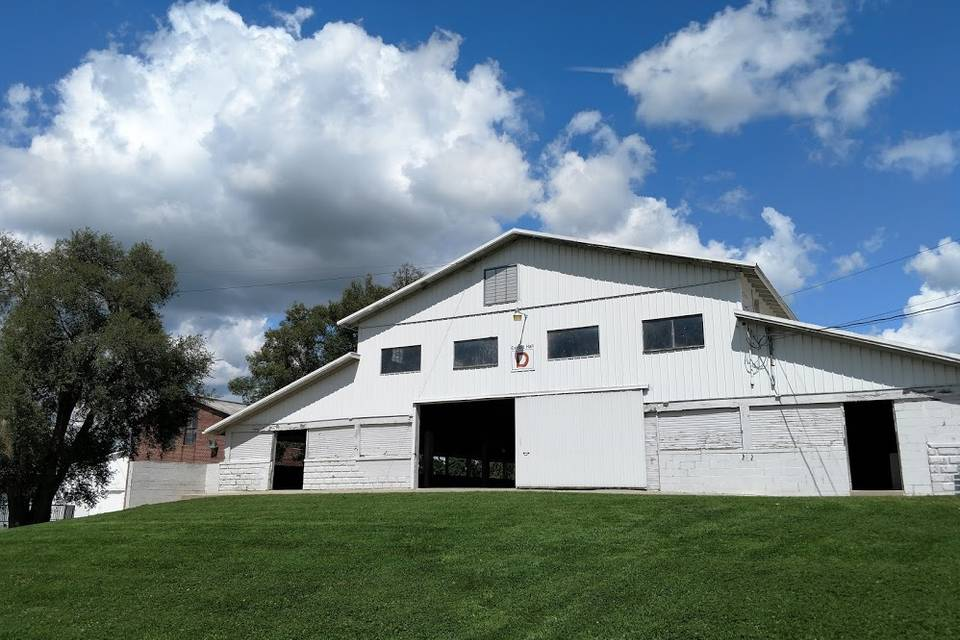 The Historic White Barn at the Fairgrounds