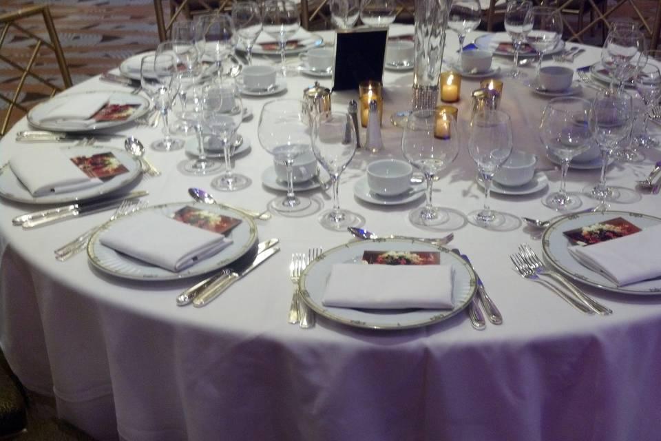 Table Settings