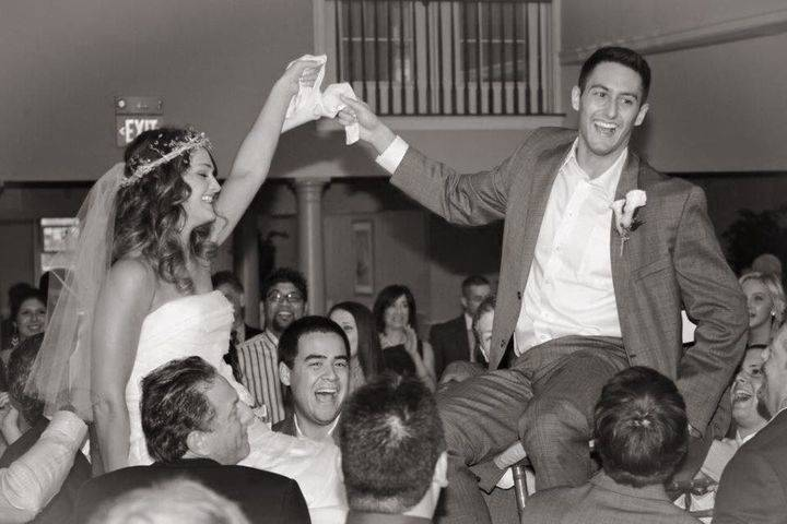 Having the time of your life as you celebrate your big day with your closest friends and family
