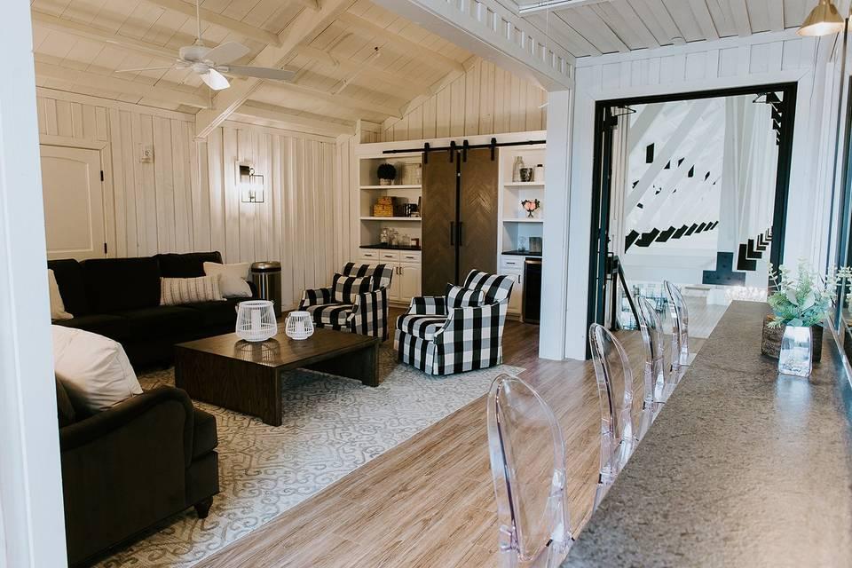 Private wedding suite