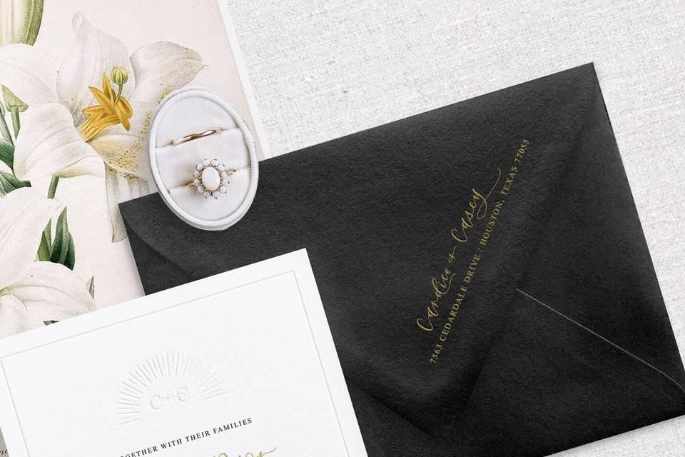 Luxury Invite