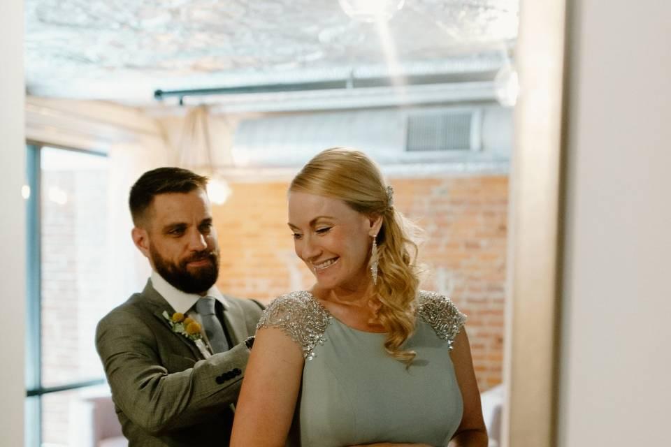 VanRiper/Evans Wedding
