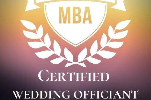 Certified Officiant