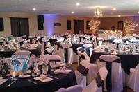 Black and white themed event
