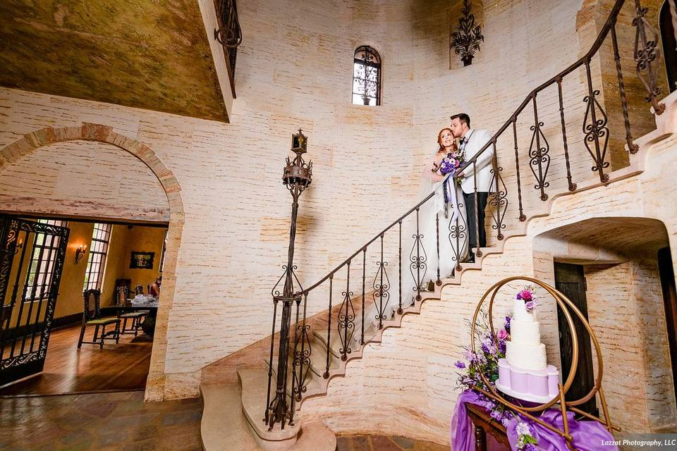 Howey Mansion Purple Wedding
