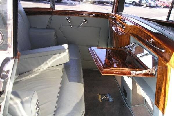 Backseat interior