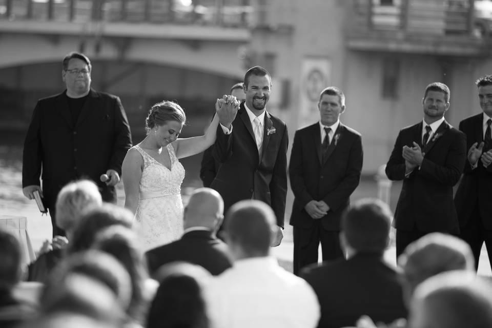 Outdoor Ceremony- Couple