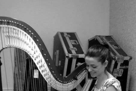 Me tuning my harp!
